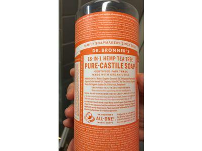 Dr. Bronner's Magic Soaps Liquid Castile Soap, Tea Tree, 32 oz - Image 5