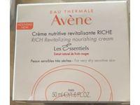 Eau Thermale Avene Rich Revitalizing Nourishing Cream, 1.6 fl oz/50 mL - Image 3