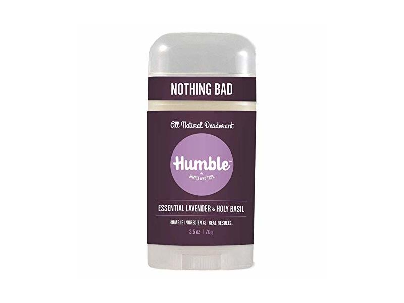 Humble All Natural Deodorant - Essential Lavender and Holy Basil, 1-Pack