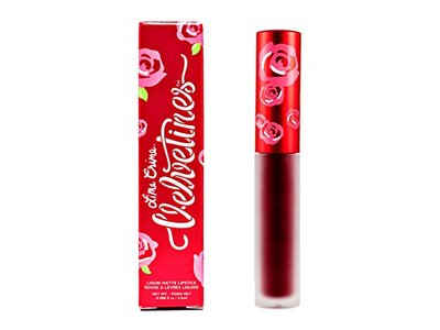 Lime Crime Velvetines Liquid Matte Lipstick, Wicked, 0.088 fl oz