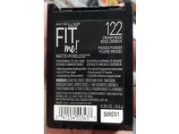 Maybelline New York Fit Me! Matte + Poreless Foundation Powder, 122 Creamy Beige, 0.29 oz / 8.5 g - Image 4