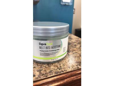 DevaCurl Melt Into Moisture Matcha Butter Conditioning Mask, 236ml/8oz - Image 3