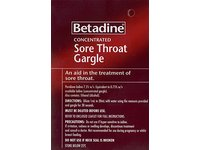 Betadine Concentrated Sore Throat Gargle, 15 mL - Image 3