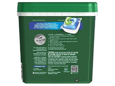Cascade Complete ActionPacs Dishwasher Detergent, Fresh Scent, 78 Count - Image 3