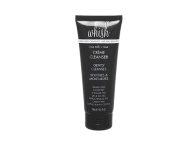 Whish Creme Cleanser Body Face Wash, Rice Milk Rose, 4 oz