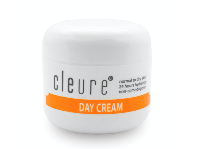 Cleure Day Cream for Dry Sensitive Skin
