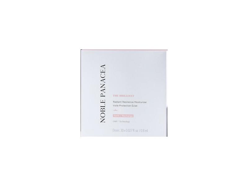 Noble Panacea The Brilliant Radiant Resilience Moisturizer, 0.027fl oz/0.8 mL (30 doses)