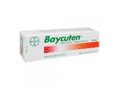 Baycuten Clotrimazol-Dexametasona Crema, 30 g