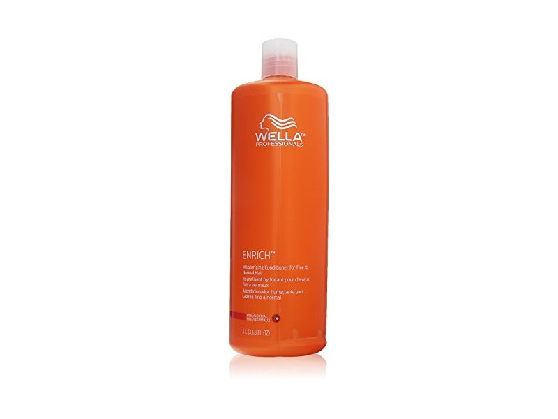 Wella Enriched Moisturizing Conditioner for Fine To Normal Hair for Unisex, 33.8 Ounce