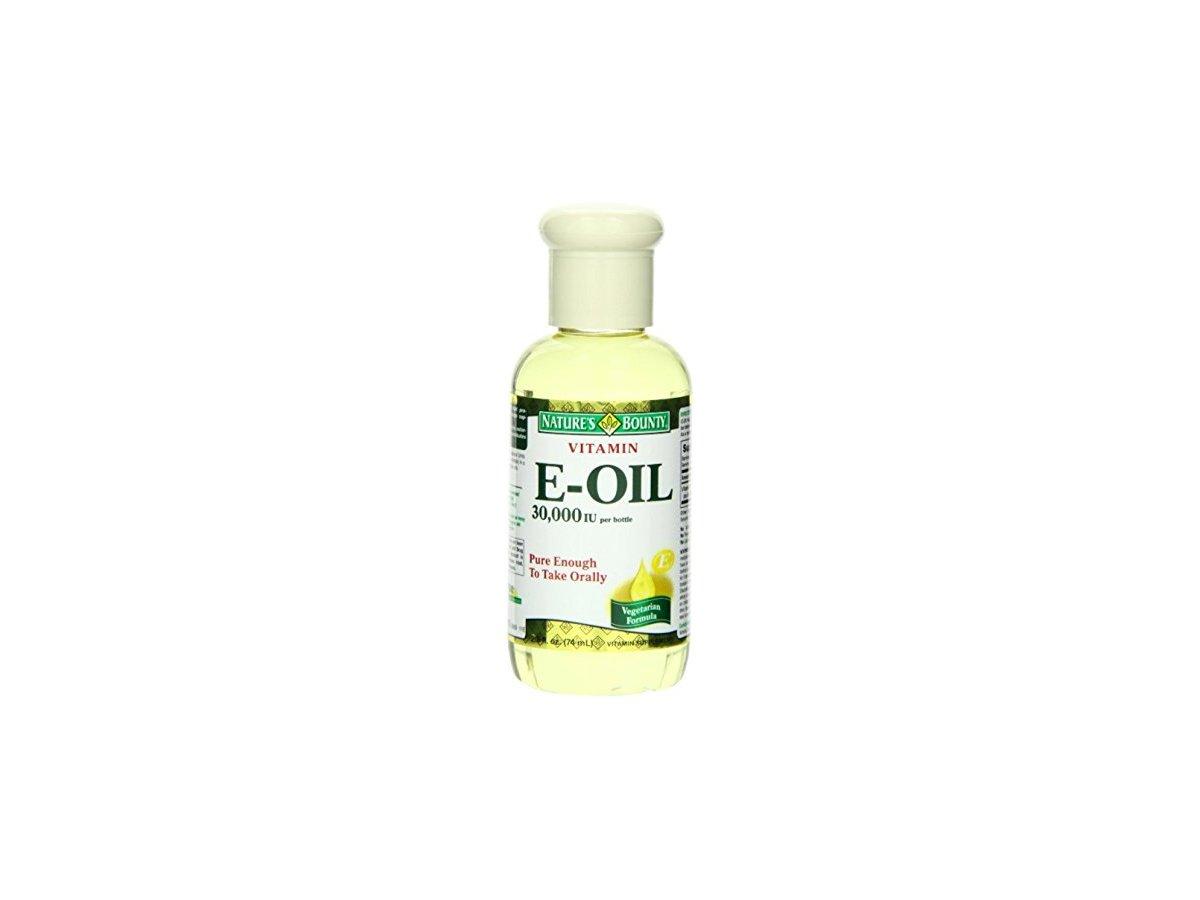 Nature made vitamin e oil