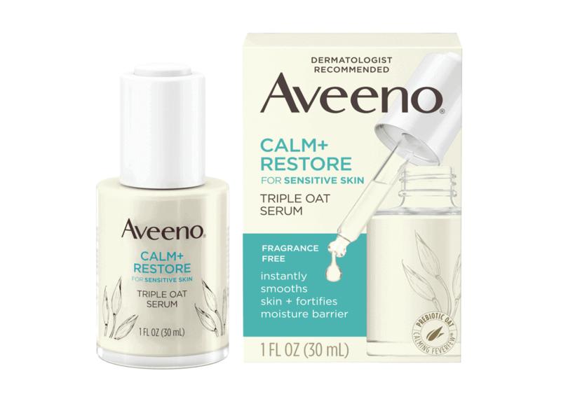 AVEENO CALM + RESTORE Triple Oat Serum For Sensitive Skin