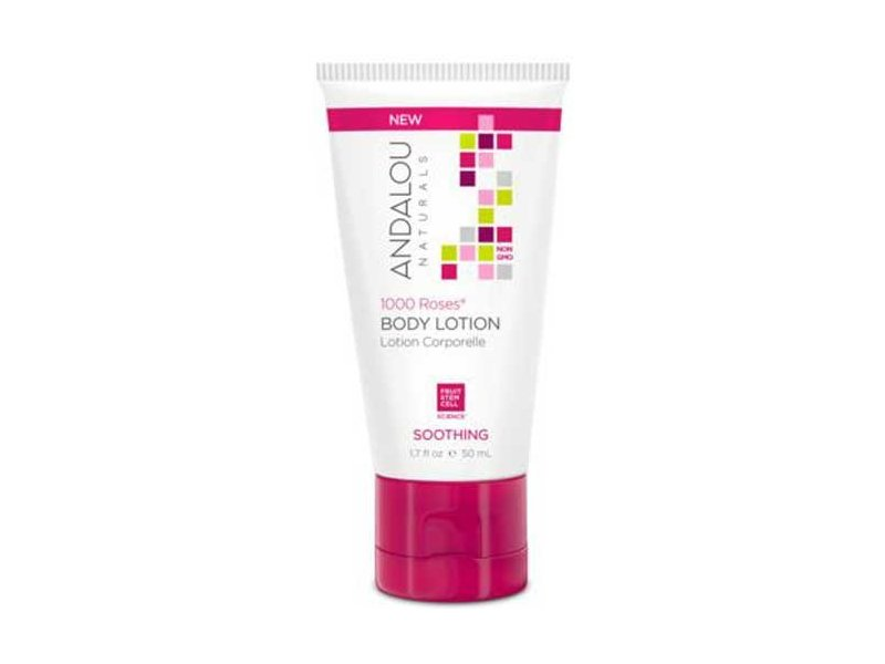 Andalou Naturals 1000 Roses Soothing Body Lotion, 1.7 fl oz