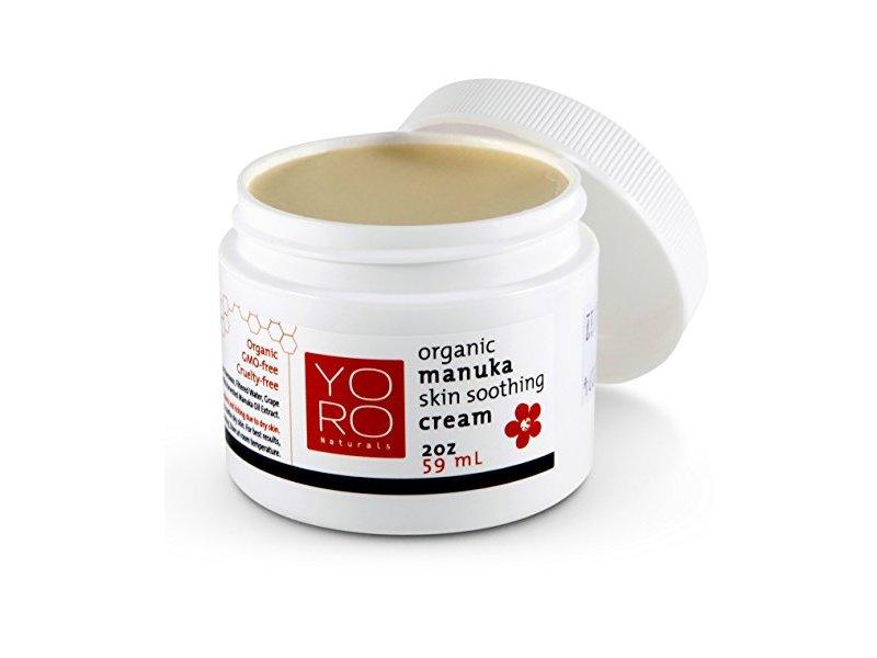 YoRo Naturals Organic Manuka Skin Soothing Cream, 2 Oz