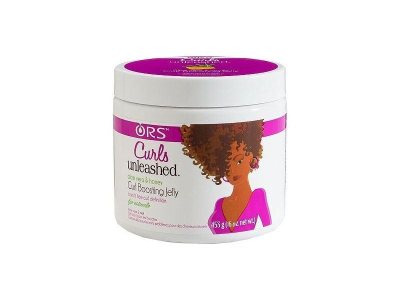 ORS Curls Unleashed Curl Boosting Jelly, Aloe Vera & Honey, 16 oz