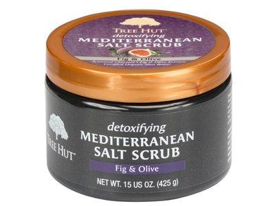 Tree Hut Mediterranean Salt Scrub, Fig and Olive, 15 oz