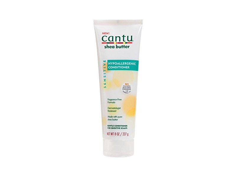 Cantu Shea Butter Hypoallergenic Conditioner, Fragrance Free, 8 oz