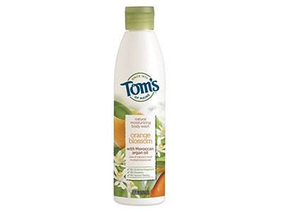 Tom's of Maine Natural Moisturizing Body Wash Soap With Moroccan Argan Oil, Orange Blossom, 12 Ounce