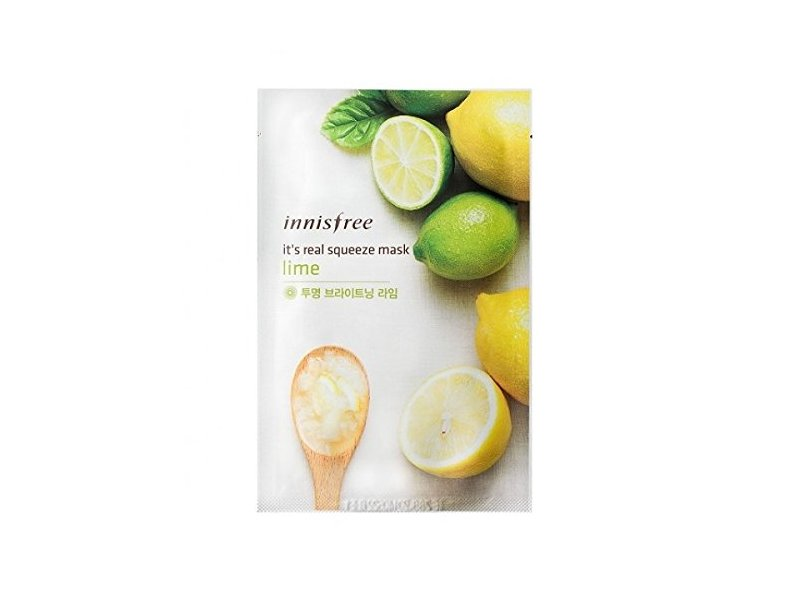 Innisfree It's Real Squeeze Mask Sheet, Lime, 1 Ounce