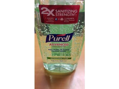 Purell Aloe Skin Care Pump Bottle, 33.8 Fluid Ounce - Image 3