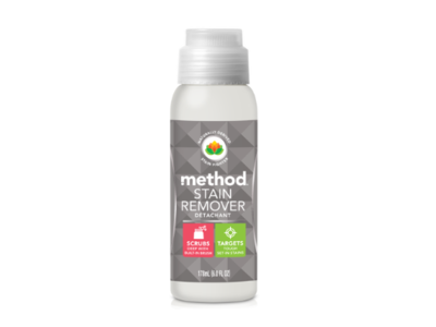 Method Stain Remover with Built In Brush, Free + Clear, 6 fl oz