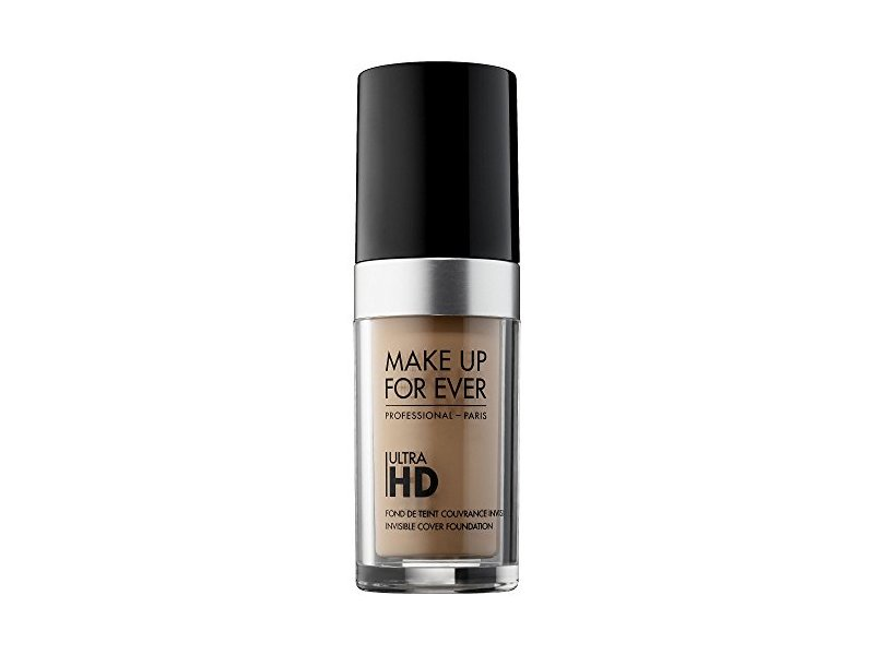 MAKE UP FOR EVER Ultra HD Invisible Cover Foundation, 127 = Y335 Dark Sand, 1.01 oz
