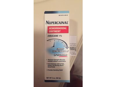 Nupercainal Hemorrhoidal Ointment Dibucaine 1% 2 Oz (Pack of 3) - Image 7