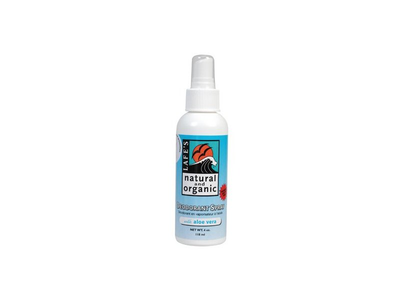 Lafe'S Natural Body Care Deod Spray W/Aloe Vera, 4 oz