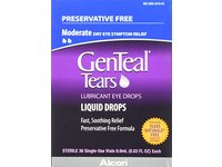 Genteal Tears Eye Drops Preservative-Free Vials, 36 Count, 0.9 ml (0.003 Fluid Ounce Each) - Image 2