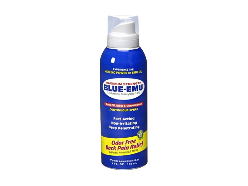 Blue-Emu Maximum Strength Back Relief Spray, , 4oz