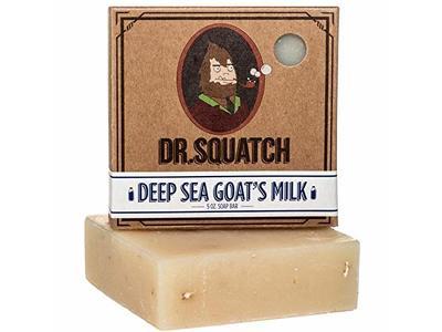 Dr. Squatch Deep Sea Goat's Milk Bar Soap, 5 oz