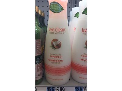 Live Clean Coconut Milk Moisturizing Shampoo, 12 fl oz - Image 4