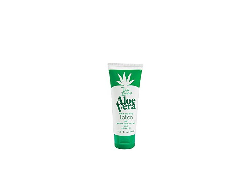 Triple Lanolin Aloe Vera Hand & Body Lotion, 2.25 fl oz