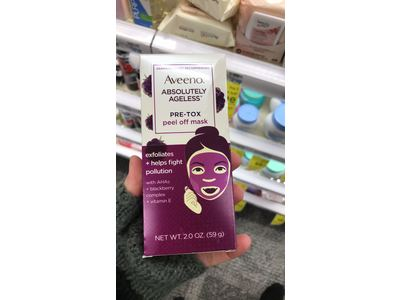 Aveeno Absolutely Ageless Pre-Tox Peel Off Antioxidant Face Mask 2 oz - Image 11