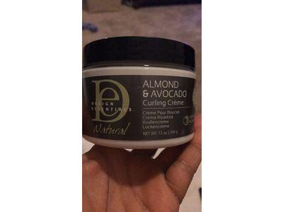 Design Essentials Almond & Avocado Curling Crème,12oz. - Image 3