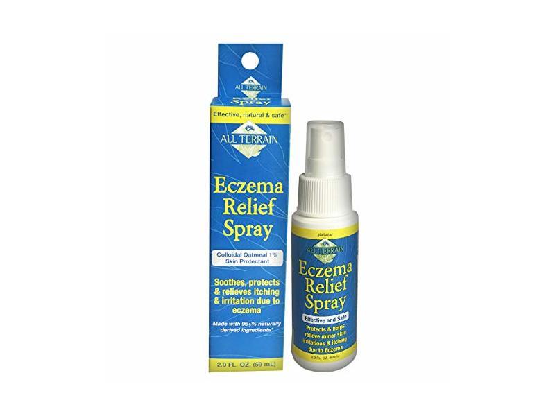 All Terrain Eczema Relief Spray, Colloidal Oatmeal 1% Skin Protectant, 2 fl oz/59 mL