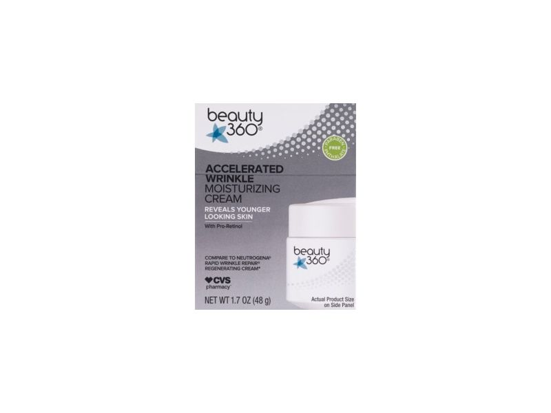Beauty 360 Accelerated Wrinkle Moisturizing Cream
