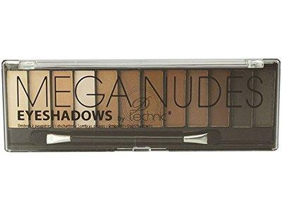 Technic Mega Mattes Eyeshadow Palette, Nudes, 12 x 1.2 g - Image 1