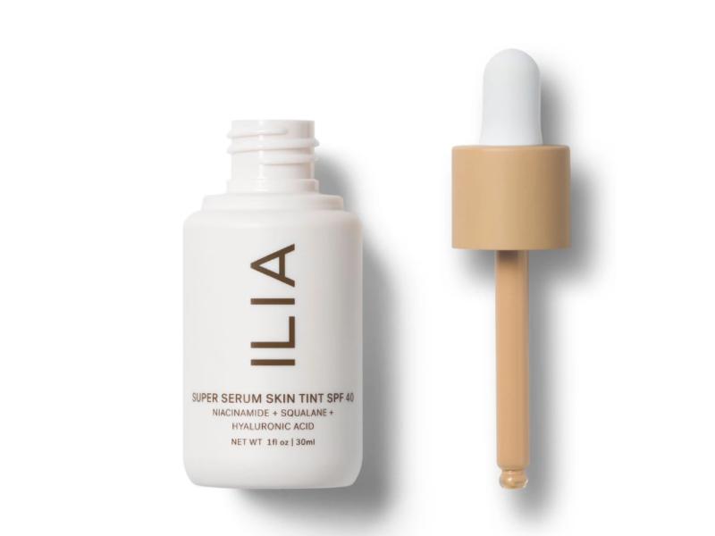 ILIA Beauty Super Serum Skin Tint, SPF40, Formosa ST4, 1 fl oz/30 mL