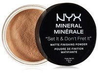 NYX Cosmetics Mineral Finishing Powder, Medium/Dark, 0.28 Ounce - Image 2