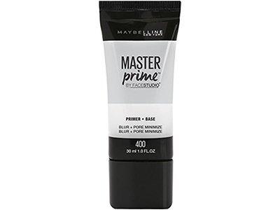 Maybelline FaceStudio Master Prime Blur + Pore Minimize Primer, 400, 1.0 fl oz