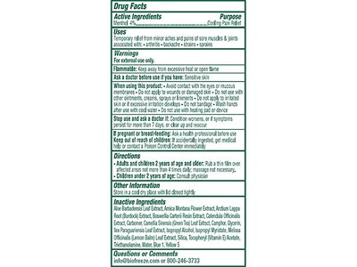 Biofreeze Cold Therapy Pain Relief, Original Green Formula, 3 oz - Image 3