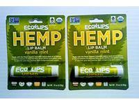 Eco Lips Hemp Lip Balm Vanilla Mint Flavor, .15 oz - Image 2
