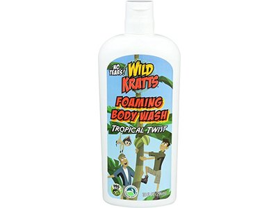 Wild Kratts Kids Foaming Body Wash Tropical Twist, 10 fl oz