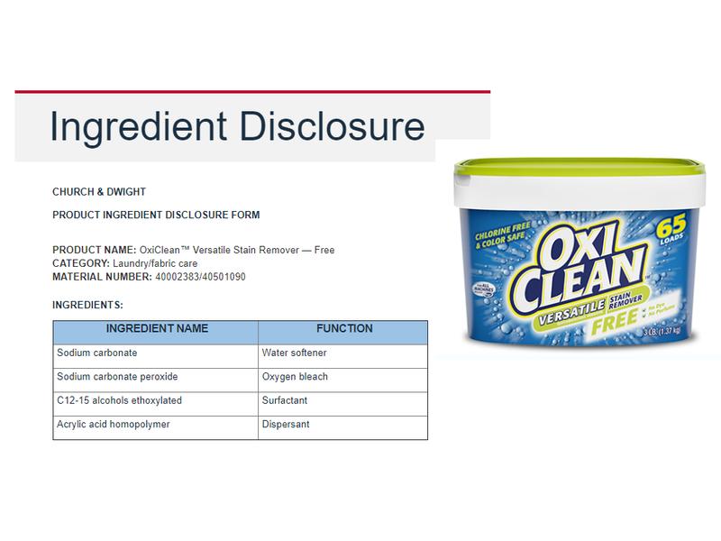 Oxi Clean Versatile Stain Remover Free, 75 loads, 3.5 lb