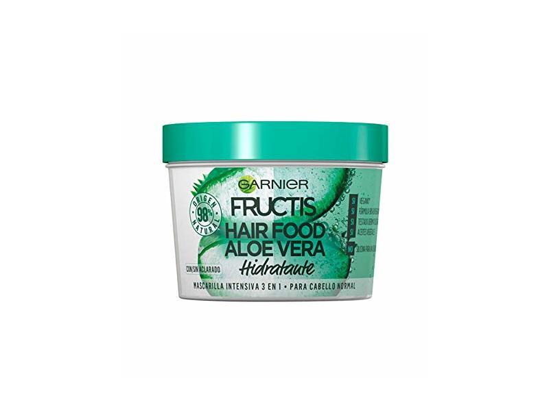 Garnier Fructis Aloe Vera Hair Food 3-in-1 hydrating Mask, 390ml