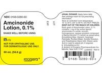 Amcinonide Lotion 0.1% (RX) 30 Grams, Fougera - Image 2