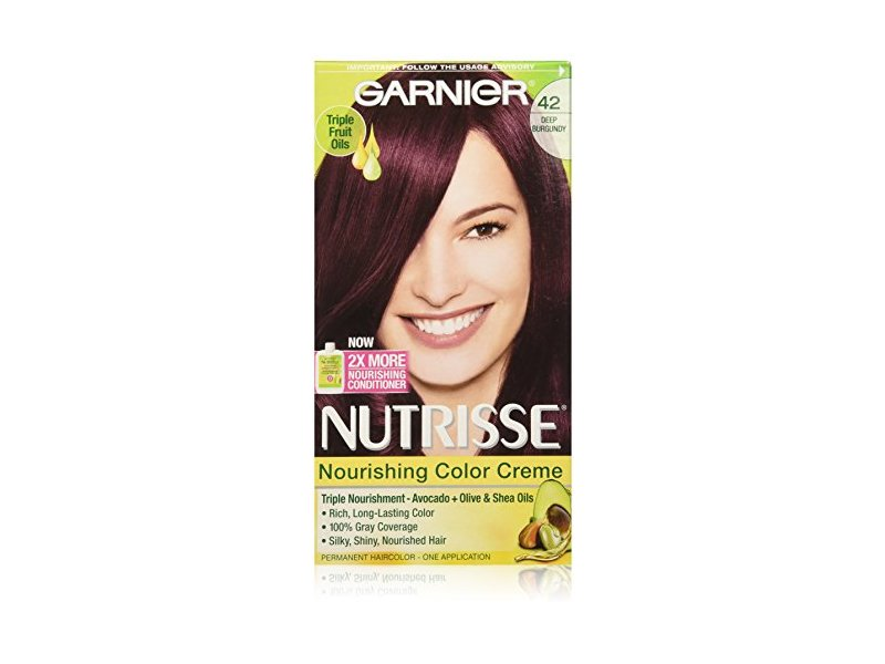 Garnier Nutrisse Nourishing Color Creme 42 Deep Burgundy