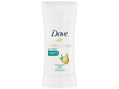 Dove Advanced Care Go Fresh Anti‑Perspirant Stick, Rejuvenate, 2.6 oz