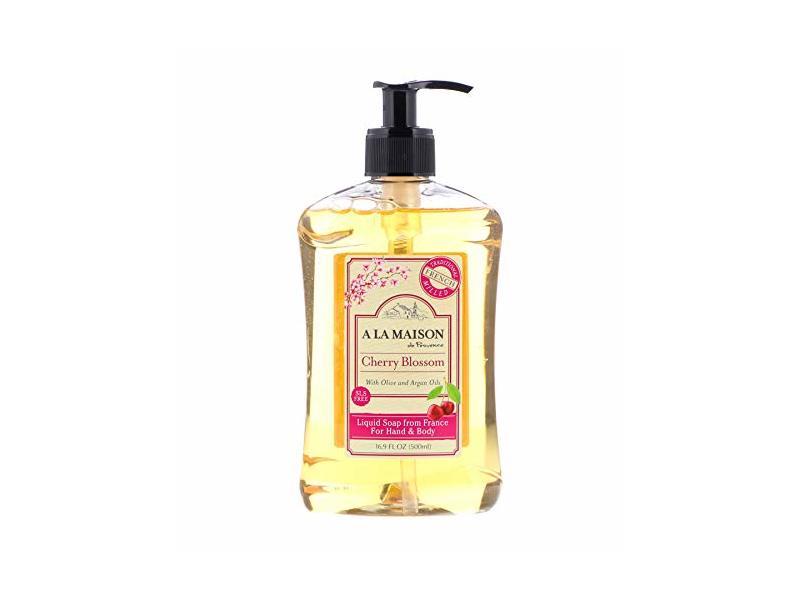 A La Maison de Provence Liquid Soap, Cherry Blossom, 16.9 fl oz