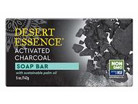 Desert Essence Soap Bar Activated Charcoal Soap Bar- 5 oz - Image 2